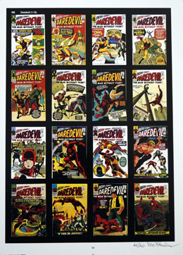 PUBLISHER'S PROOF PAGE: Photo-Journal Guide to Comic Books - Daredevil 1 - 16 (Signed) (Limited Edition)